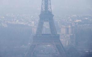 pollution dans paris