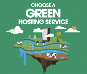 choose a green hosting service